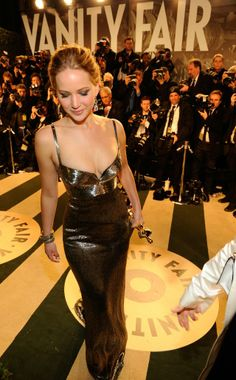 Jennifer Lawrence, Vanity Fair Oscars After Party