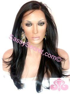 Yaki Synthetic Lace Wig