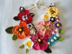 Miss Flor Croche: Colar Primavera
