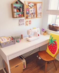 Finally unwrapped my lovely new computerised Janome sewing machine, isn't she a beauty!! Almost afraid to use it, it's so fancy! Also took the chance to give my sewing room a bit of a revamp this weekend, can't wait to get started on all my exciting new projects!! ✂️✨ #sewing #sewingroom #myhome #myspace #sewingmachine #janome #crafts #happy #happyplace #dressmaking #sewcialist #bankholiday #monday #mondaymotivation #instapic #instadaily #pictureoftheday
