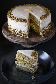 Pistachio and Orange Cake