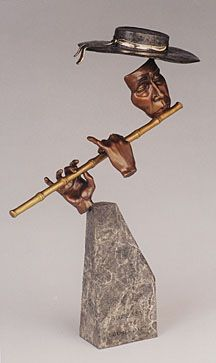 Bronze sculpture by Michael Holmes ~ETS #sculpture #peru