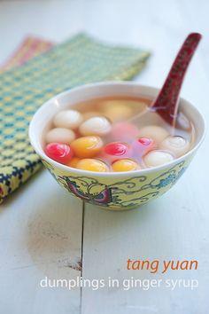 Dongzhi Tang Yuan (Sweet Dumplings) to celebrate Chinese winter solstice which falls on Dec 22. #dumplings #festival