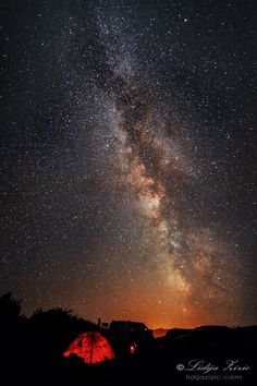 Sveti Rok, Lika, Croatia  Under the Milky way by photologia