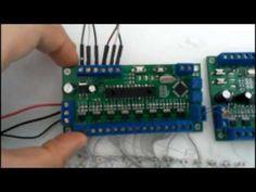 Автоматическая подсветка лестницы (контроллер) - YouTube