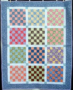 Because I'm Me: Little Girl Quilt inspired by my college girl