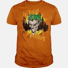 Batman Joker Tricks No Treats