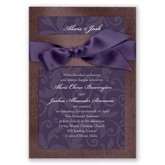 Treasured Jewels Pattern - Jasper & Plum Invitation