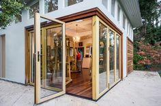 San Francisco Bay Area Artist Studio - modern - home office - san francisco - by Bill Fry Construction - Wm. H. Fry Const. Co.