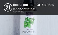 21 Household + Healing Uses for Peppermint Oil | HelloNatural.co