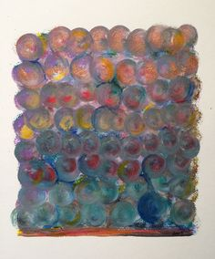 """""""Swirling in colour"""" #art #painting #dots #abstract"""