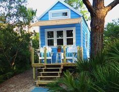 A tiny house cottage off the grid, a weekender R. built like a house! Nestled within lush coastal vegetation, only a short walk from the beach on remote and undeveloped . Read moreTiny (RV) Beach House Cottage Living on St. Tiny Beach House, Beach Cottage Style, Beach Cottage Decor, Coastal Cottage, Cottage Living, Cottage Homes, Tiny Living, Rv Living, Cabana