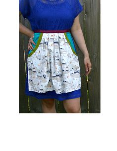 Fox & Teepee apron by wineNwhiskeyaprons on Etsy