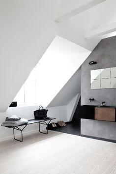 Norm Architects Attic Bathroom