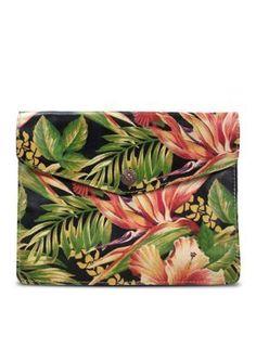 Patricia Nash Cuban Tropical BlackMulti Cuban Tropical Midi iPad174 Case