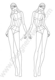 Resultado de imagen para fashion girls templates