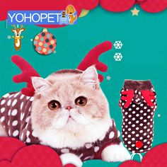 Pet Costumes Cats Clothes For Cats Christmas Outfit Funny Costume cat Puppy Halloween Costume Soft comfortable cat Autumn Dress
