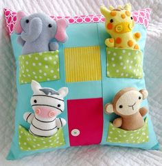 67 Ideas For Sewing Pillows Animals Softies Softies, Sewing Toys, Baby Sewing, Sewing Crafts, Sewing Kit, Baby Crafts, Felt Crafts, Diy And Crafts, Sewing Projects For Beginners
