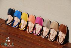The best menorquinas or abarca shoes at www.okaaspain.com. Always 100% MADE IN SPAIN