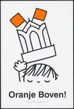'Oranje Boven!', ter gelegenheid van het bezoek van Koningin Beatrix aan Utrecht op koniginnedag in 1999