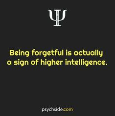 Psychological Facts about being forgetful Psychology Fun Facts, Psychology Says, Psychology Quotes, Interesting Psychology Facts, Brain Facts, Science Facts, Reality Quotes, Life Quotes, Physiological Facts