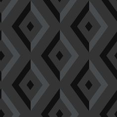 Diamond Black Wallpaper from Wedgwood by Blendworth