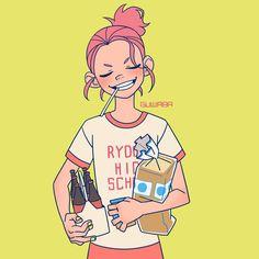 grocery girl