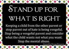 167 Red Flags or Examples of Parental Alienation