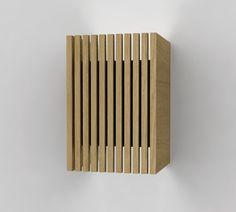 lamparas de pared en madera - Buscar con Google