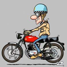 Infografies4 Love Wallpaper Backgrounds, Skull Wallpaper, Motorcycle Types, Motorcycle Art, Car Drawings, Cartoon Drawings, Morbider Humor, Motorbike Drawing, Motorised Bike