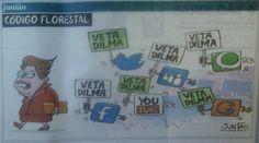 #VetaTudoDilma por Julião