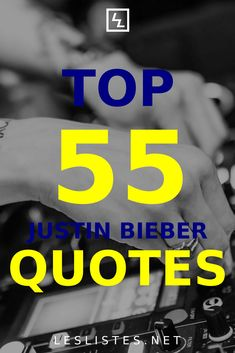 Justin Bieber is a famous Canadian pop singer. With that in mind, check out the top 55 Justin Bieber quotes. #justinbieber #justinbieberquotes Justin Bieber Quotes, I Will Fight, Never Say Never, Rough Day, Group Boards, It Gets Better, Get What You Want, Say Anything, Nature Quotes