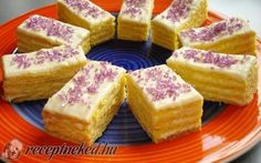 Érdekel a receptje? Hungarian Desserts, Hungarian Recipes, European Cuisine, Croatian Recipes, Something Sweet, French Toast, Muffin, Cheesecake, Food And Drink