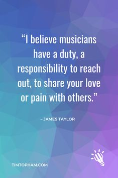 Do you believe musicians have a 'duty and responsibility'?? Follow my Instagram for more inspiration & resources for teaching piano!  #musiceducation #teachingpiano #musiclessons #pianolessonplan #pianostudio #teachpianotoday #pianoteaching #pianopractice #creativepianoteaching #timtopham Teaching Quotes, Lesson Quotes, Teaching Tips, Piano Quotes, Music Quotes, Life Quotes, Piano Lessons, Music Lessons, Piano Funny