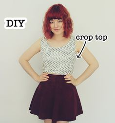 DIY Crop Top (The Pineneedle Collective)