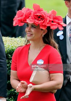 (EMBARGOED FOR PUBLICATION IN UK NEWSPAPERS UNTIL 48 HOURS AFTER CREATE DATE AND TIME) Princess Haya Bint Al Hussein attends day 3, Ladies Day, of Royal Ascot at Ascot Racecourse on June 22, 2017 in Ascot, England. (Photo by Max Mumby/Indigo/Getty Images)
