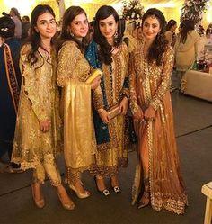 Groom sisters strike a pose for us at #MaryamandAT's #Baraat