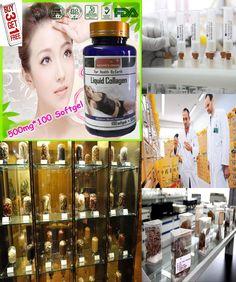 [Visit to Buy] (Buy 3 Get 1 Free) IPL-GLUTATHIONE +CO Q10+VITAMIN C+Liquid Collagen Beauty Formula 500mg X 100 Softgel capsules #Advertisement