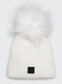"Measurement: 8""x8"" Fabric: 50% Angora 50% Acrylic Fur collar: 100% natural raccoon fur, origin: Finland Dry-clean only"