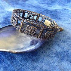 Pentti Sarpaneva bracelet Brutalist Design, Vintage Pottery, Contemporary Jewellery, Vintage Buttons, Cuff Bracelets, Vintage Jewelry, Vintage Ceramic, Vintage Jewellery, Antique Jewellery