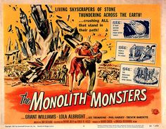 B-Movie monsters | THE MONOLITH MONSTERS Landscape - monster b movie posters wallpaper ...