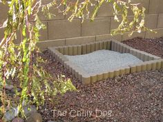 "How to build a simple, DIY, outdoor cat litter box that I like to call ""The Zen…"