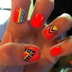 Happy nails #SpinoutDay