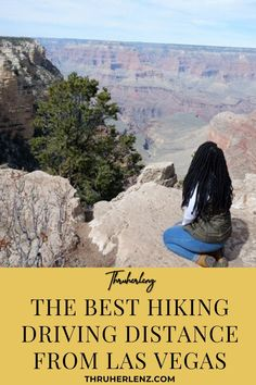 Thinking of heading to the National Parks as part of your outdoor adventure from Las Vegas? Get out of the city and experience some of the best views that hiking offers.  Don't be fooled, Black Girls Hike for sure!  Repin and read about my adventure at the Grand Canyon National Park South Rim in Arizona and visiting Zion National Park in Utah.  Take a road trip to the national parks or a Las Vegas tour bus!