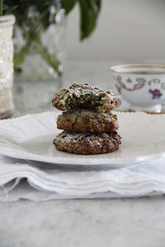 fork and flower: italian pistachio cookies