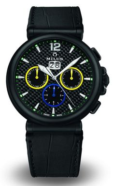 a73325c2d73 Milus Limited Edition Zetios Chronograph Watches For Brazil Cute Watches