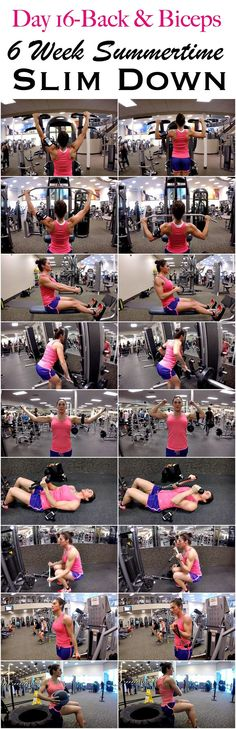 6 WEEKS SUMMERTIME SLIM DOWN: DAY 16-BACK & BICEPS.... >>> Learn more by checking out the image link