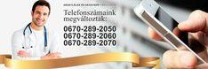 Telefonszámaink megváltoztak: 0670-2892050  #ARANYLÉLEK #ARANYSZÍV #AMBULANCE #Budapest