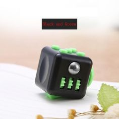 Mini Fidget Cube Toy Vinyl Desk Finger Toys Squeeze Fun Stress Reliever 4.3cm High Quality Antistress Cubo Adult Birthday Gift
