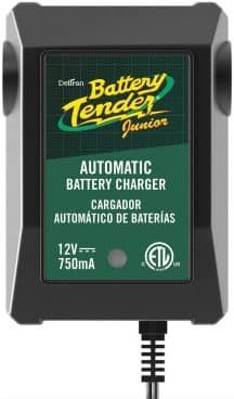 Battery Tender Junior Charger and Maintainer: Automatic Powersports Battery Charger and Maintainer for Motorcycle, ATVs, and More - Smart 12 Volt, Battery Float Chargers - Tractor Battery, Automatic Battery Charger, Battery Clamp, Motorcycle Battery, Lead Acid Battery, Laptop, Samsung, Starters, Amazon
